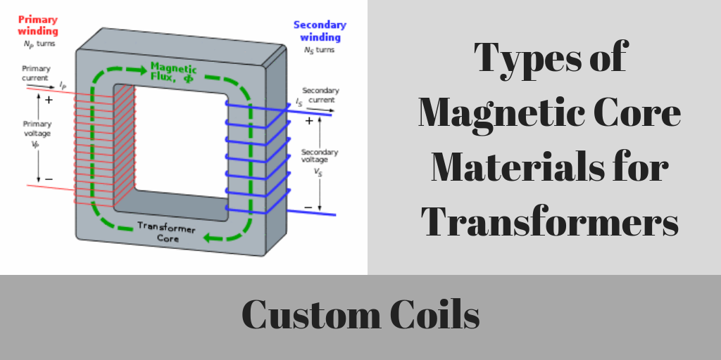 Types Of Magnetic Core Materials For Transformers | Custom