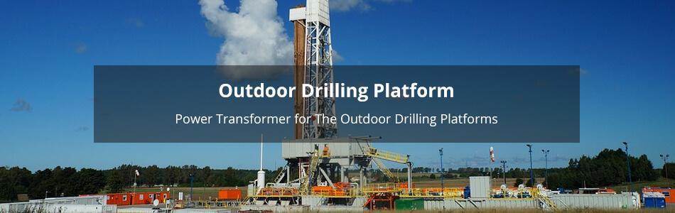 Outdoor Drilling Platform