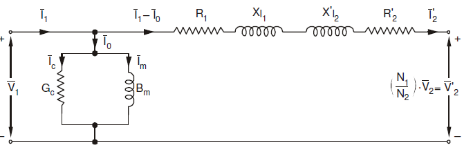 equivalent circuit primary side circuit