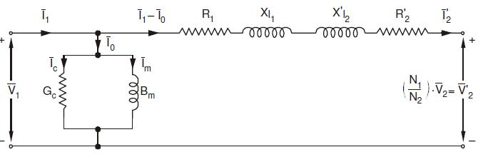 equivalent circuit primary side circuit