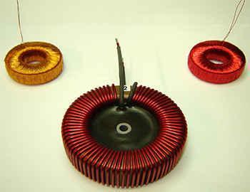 custom toroidal inductor